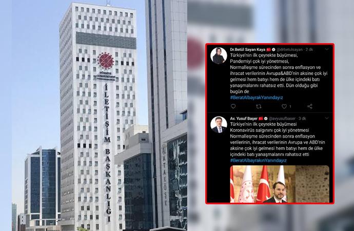 İletişim Başkanlığı saray tweet merkezi gibi çalışıyor