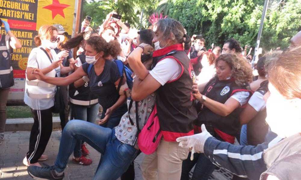 Kadınların yaka paça gözaltına alındığı gün, erkek egemenliğinde 'İstanbul Sözleşmesi' tartışması