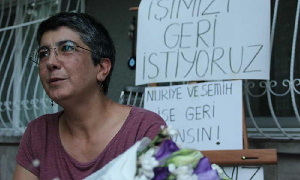 'İşimizi geri istiyoruz' eylemi yapan KHK'lıların tutuklanma gerekçesi açıklandı