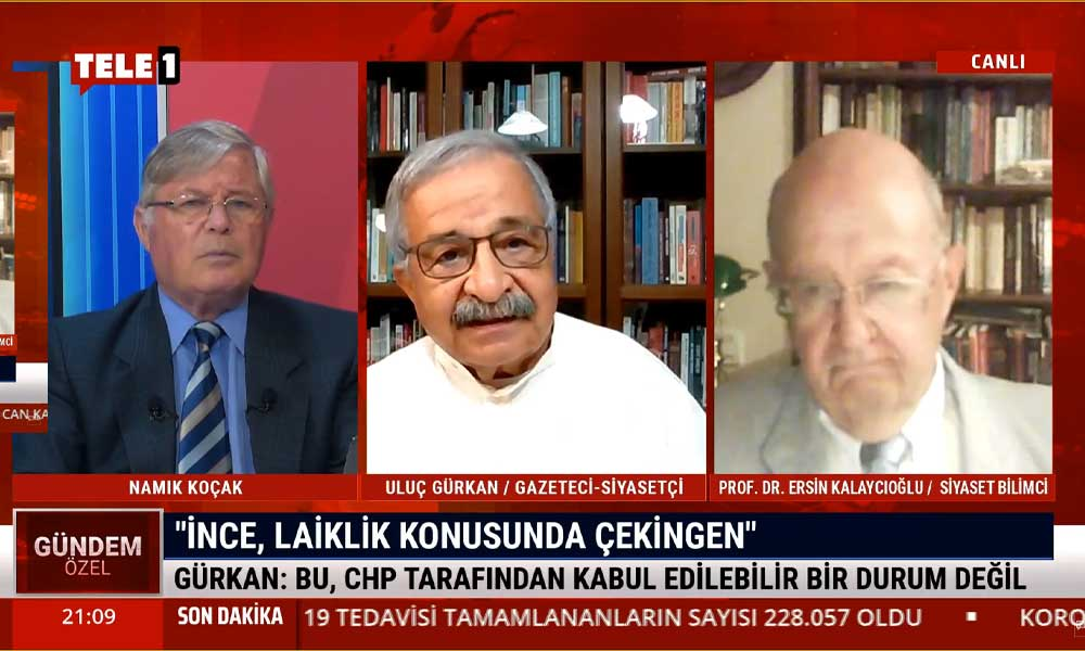 Ersin Kalaycıoğlu: Sağa meyil ister istemez partide huzursuzluk yaratıyor