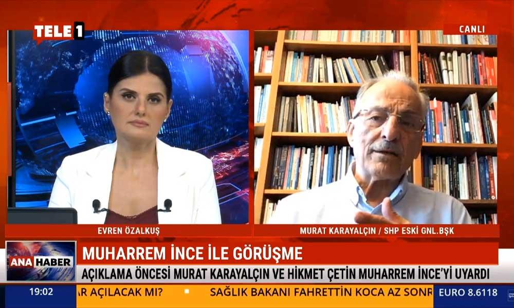 Muharrem İnce'yle görüşen Murat Karayalçın'dan, 'İnce parti kuracak mı?' sorusuna yanıt