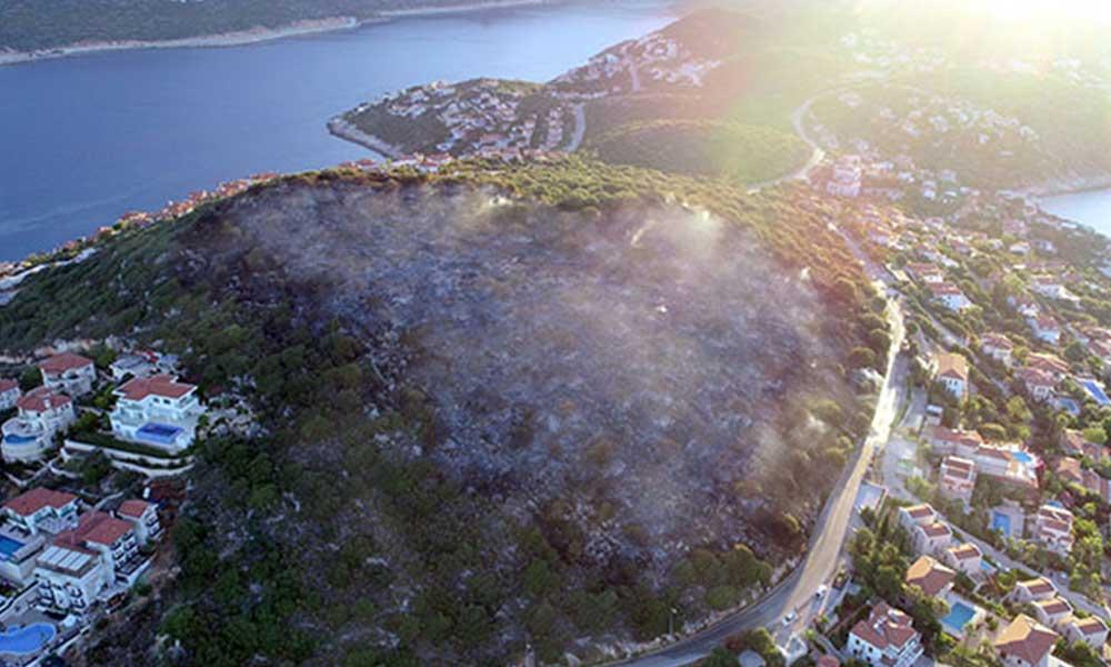 Kaş'ta 'Tam otellik yanan' arazi imara açıldı