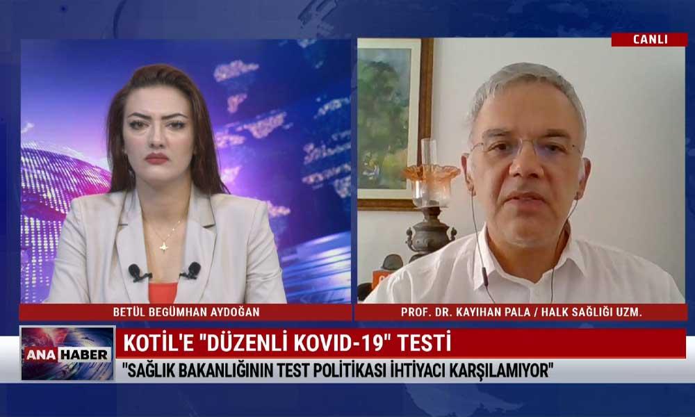 """""""Sağlık Bakanlığı hastanelere test kotası getirmiş, sınırlı sayıda test yapılıyor"""""""
