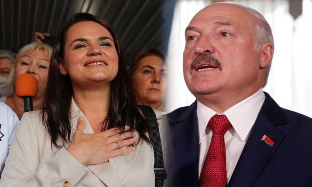 Muhalif aday seçimi tanımadı! Lukaşenko ilk defa konuştu
