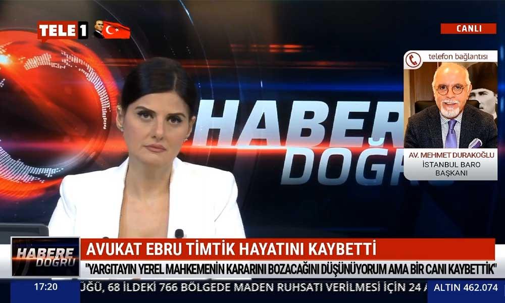 """""""Ebru Timtik, Selim Kiraz'ın öldürüldüğü gün bu işi lanetlemiş"""""""