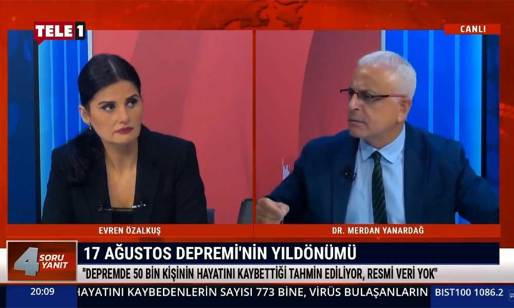 Merdan Yanardağ: 18 yıldır AKP iktidarı deprem önlemi olarak ne yaptı?