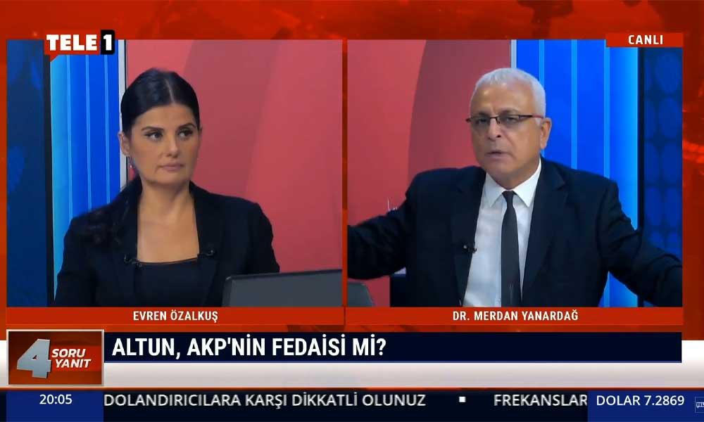 Merdan Yanardağ: Fahrettin Altun, Erdoğan ve AKP'nin fedaisi gibi davranıyor