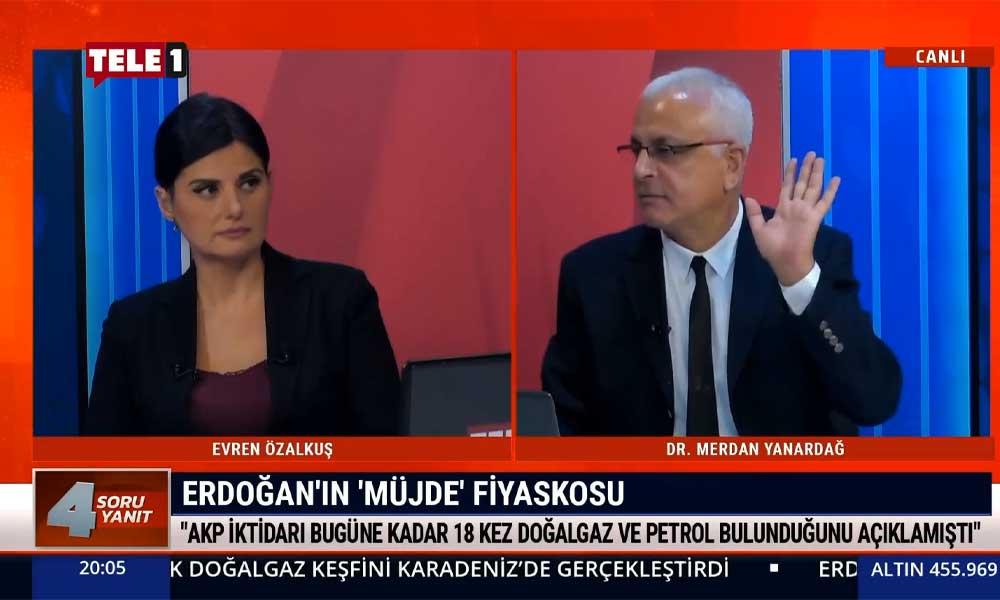 Merdan Yanardağ: Erdoğan'ın 'müjde'si fiyasko çıktı