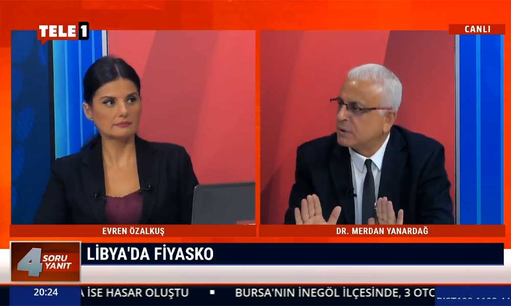 Merdan Yanardağ: Bir AKP dış politika efsanesi daha çöküyor