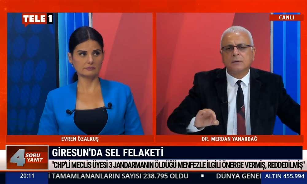 Merdan Yanardağ: AKP'nin, Türkiye'ye yağma ve talandan başka verebilecek hiçbir şeyi yok