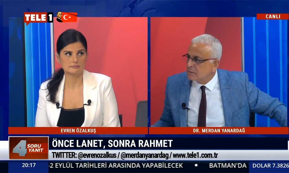 Merdan Yanardağ: Millet, Ali Erbaş'ı hizaya getirdi; biz o sahtekarlığı, ikiyüzlülüğü unutmayacağız