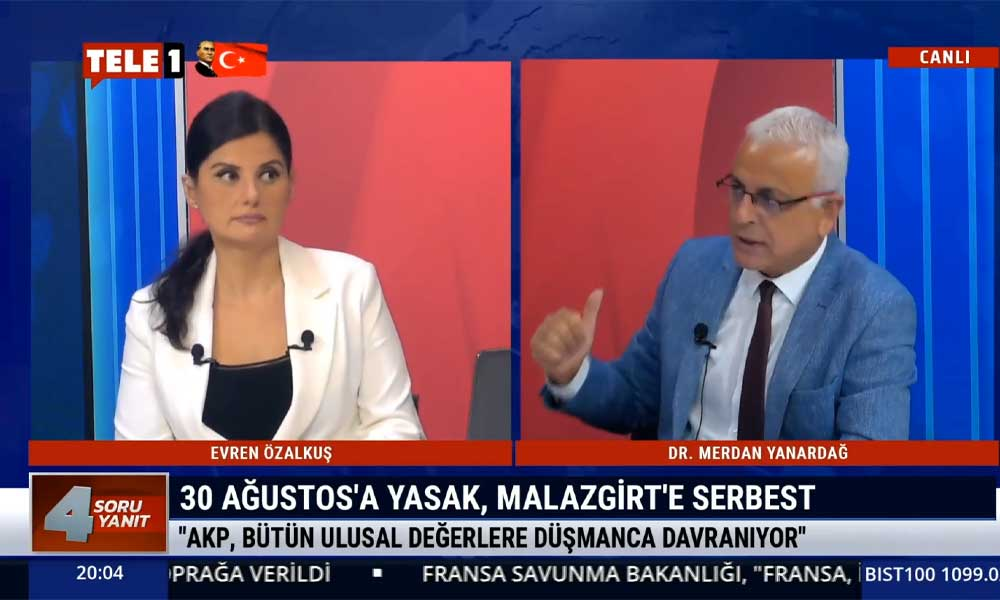 Merdan Yanardağ: AKP Orta Çağ'ın partisidir