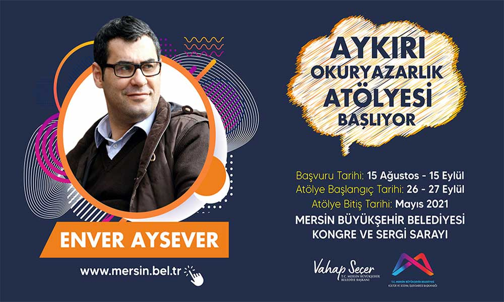 Enver Aysever ile 'Aykırı Okuryazarlık Atölyesi' başlıyor