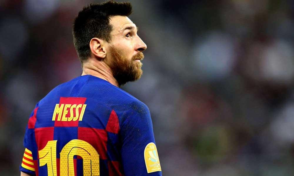 Barcelona'da flaş gelişme: 'Başkan Bartomeu, Messi'ye istifa etme sözü verdi'