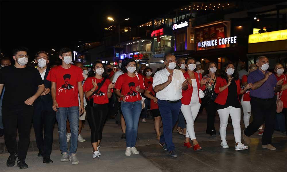 Mudanya'da büyük zafere büyük kutlama