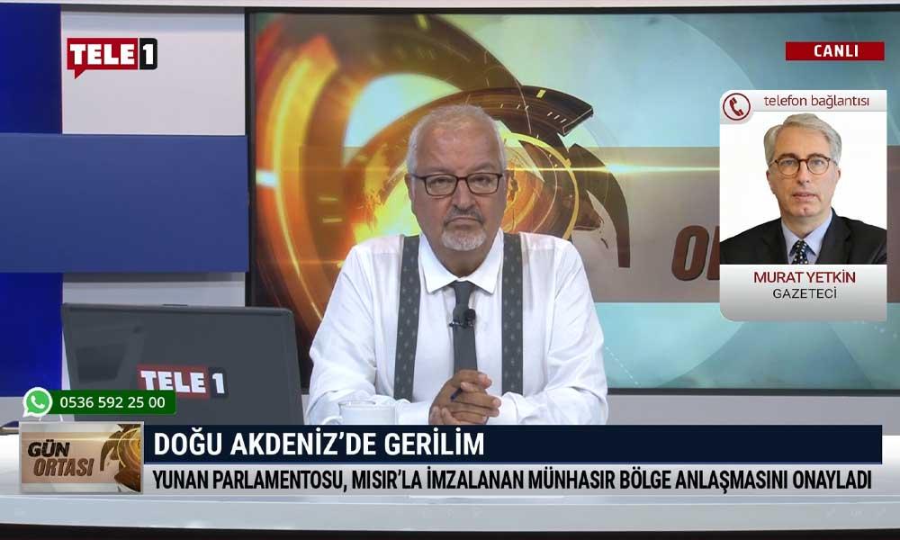 Gazeteci Murat Yetkin: Yunanistan, AB ülkelerine şantaj yapmış olabilir