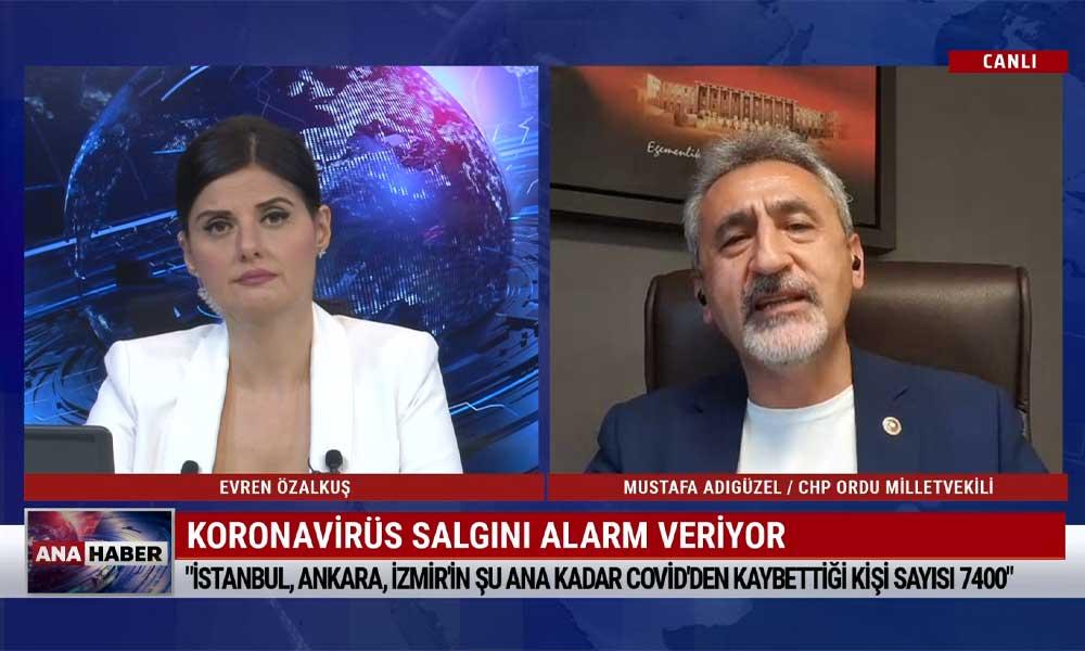 """""""Türkiye'de şu ana kadar 2,5 milyon kişi koronavirüse yakalandı"""""""