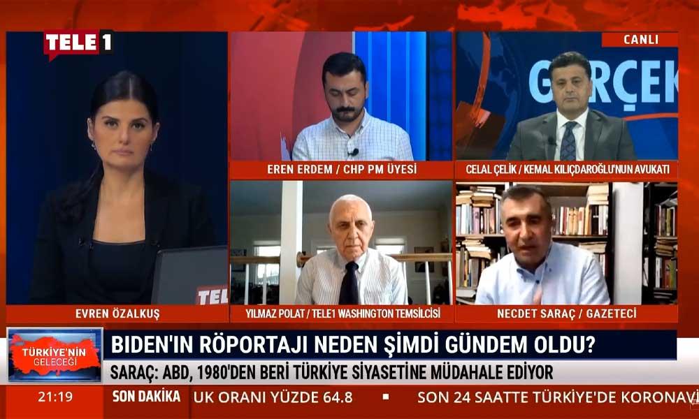 Necdet Saraç: Sıkışan AKP, Biden'ın açıklamalarını 7 ay sonra koza dönüştürmeye çalıştı