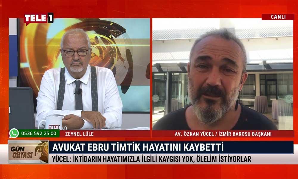 """""""Ebru Timtik'in Selim Kiraz'in öldürülmesiyle herhangi bir bağlantısı yok; gerçeklerin karşısına yalanla çıkıyorlar"""""""