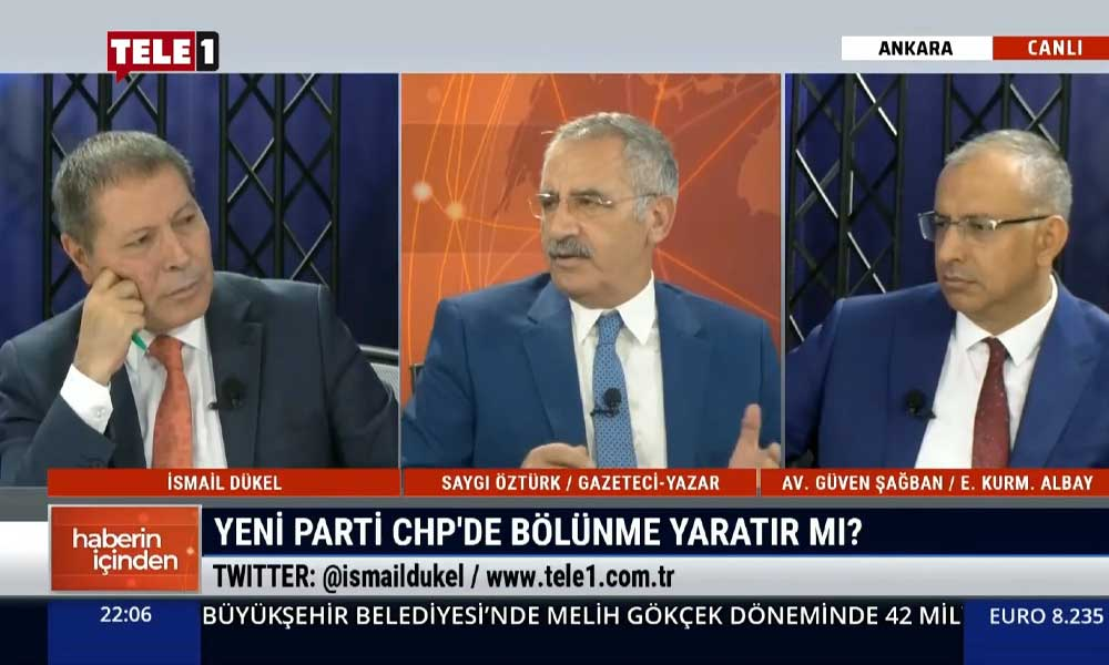 Saygı Öztürk: İnce'nin parti kurması CHP'nin işine yaramaz