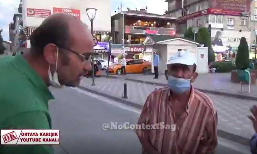 Sokak ortasında engelli vatandaşa skandal sözler
