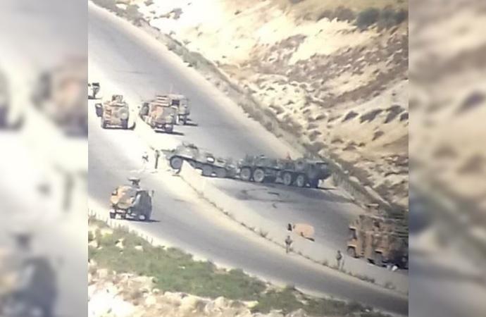 Türk Rus ortak devriyesine bombalı saldırı!