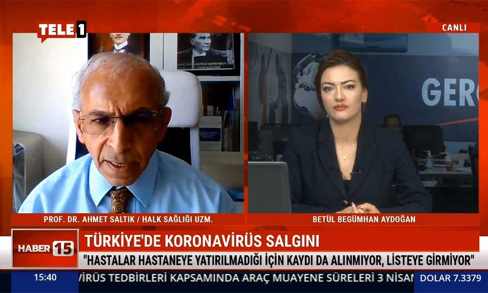 Prof. Dr. Ahmet Saltık: Nisan ayından daha büyük rakamlarla karşı karşıyayız