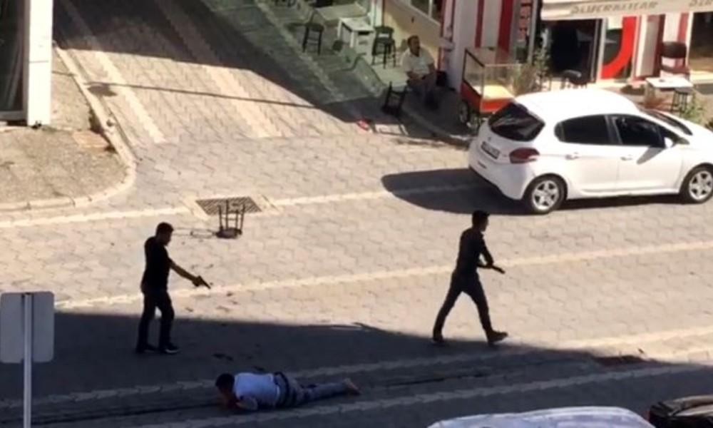 Samsun'da sokak ortasında kan donduran cinayet!