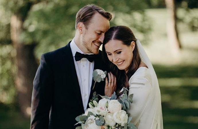 Finlandiya Başbakanı Marin, futbolcu Raikkonen'le evlendi