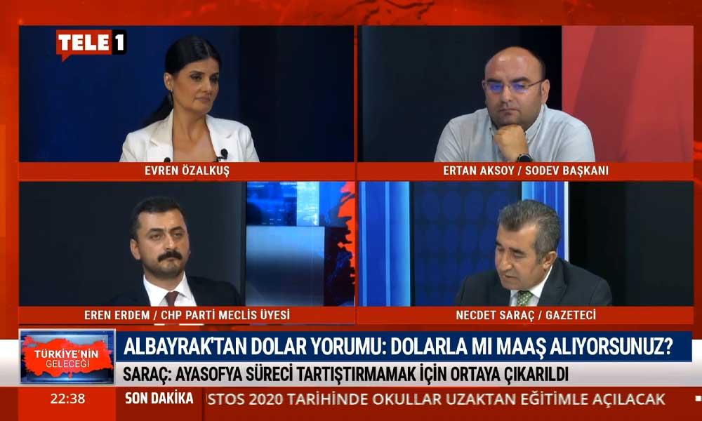 Necdet Saraç: Berat Albayrak sözleri tesadüfen söylemedi, bilinçli olarak yapılıyor