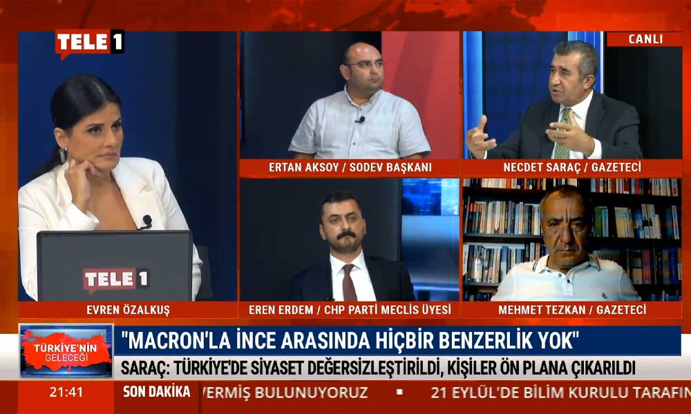 Necdet Saraç: Muharrem İnce işini AKP-MHP köpürtüyor, durup düşünmemiz lazım