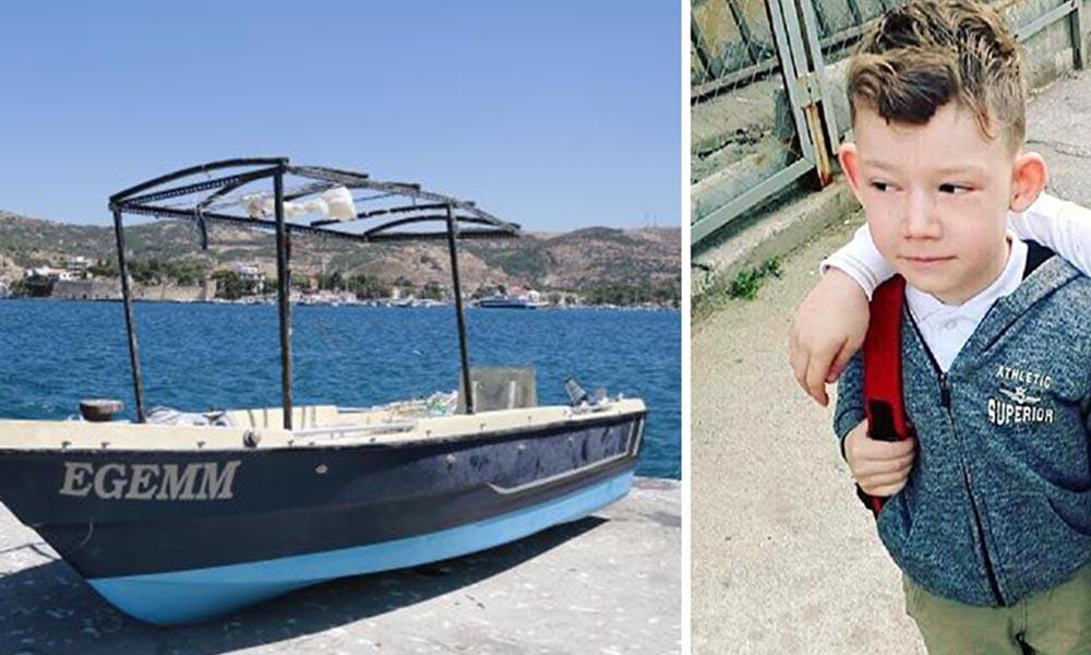 Foça'daki tekne faciasında kaybolan 9 yaşındaki Sarp'ın cansız bedenine ulaşıldı