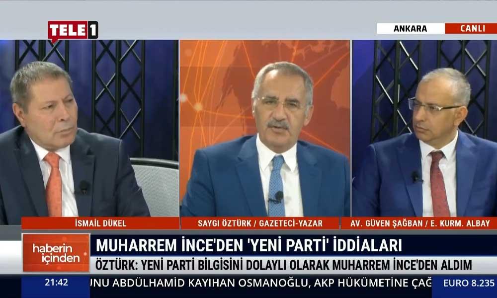 Muharrem İnce CHP'ye neden kırgın? Saygı Öztürk açıkladı