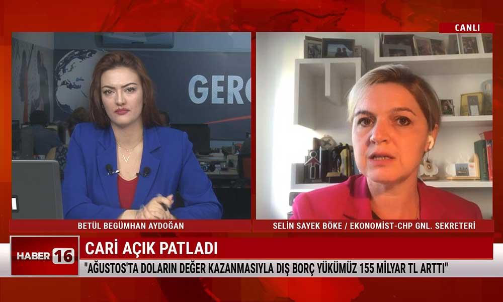 Selin Sayek Böke: Bu iktidar var olduğu sürece Türk Lirası değer kaybedecek
