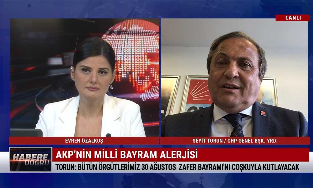 CHP Genel Başkan Yardımcısı Seyit Torun: Geçmişimize ihanet etmek ancak hainlere yakışır