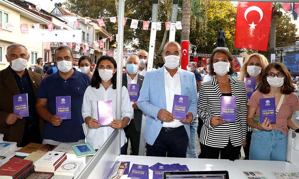 Mudanya Belediyesi'nden herkese İstanbul Sözleşmesi kitapçığı