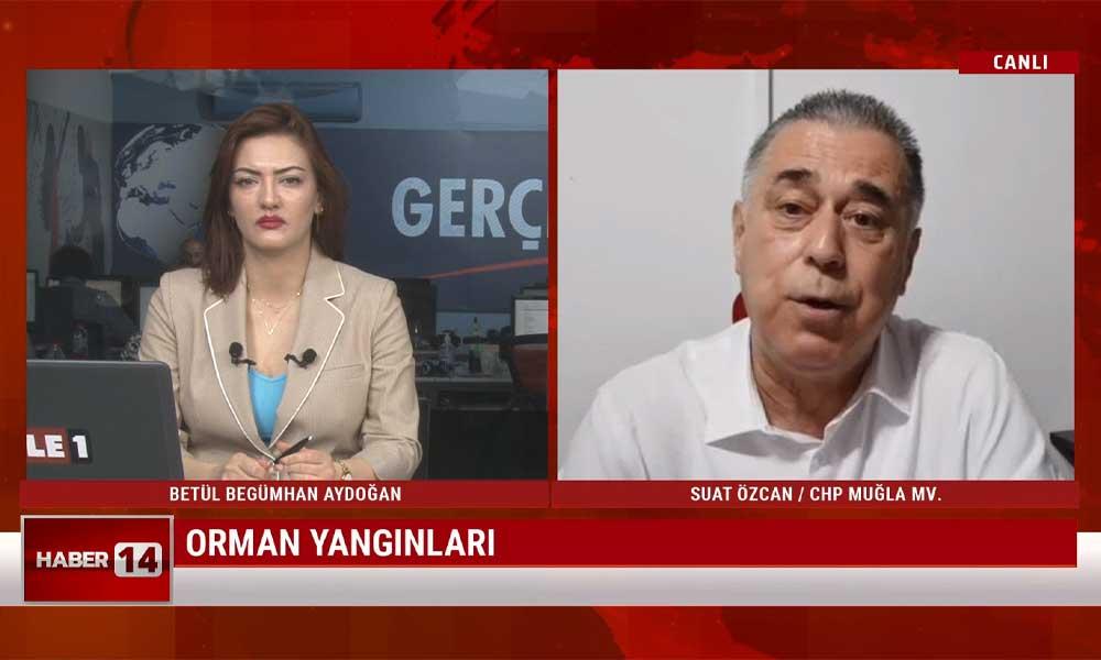 Suat Özcan: Meclis'te kurulacak orman yangınlarıyla ilgili komisyon AKP-MHP oylarıyla reddedildi