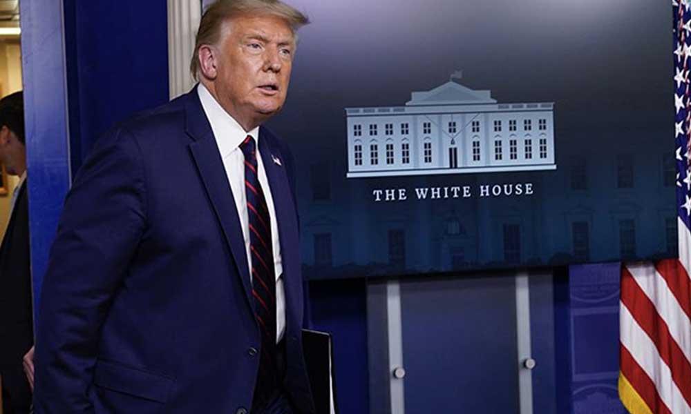 Beyaz Saray'a silahlı saldırı! Trump salondan çıkartıldı
