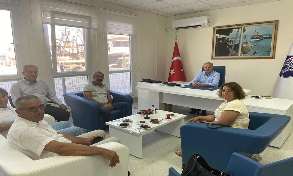 Fatih Mehmet Maçoğlu'ndan Başkan Atabay'a ziyaret