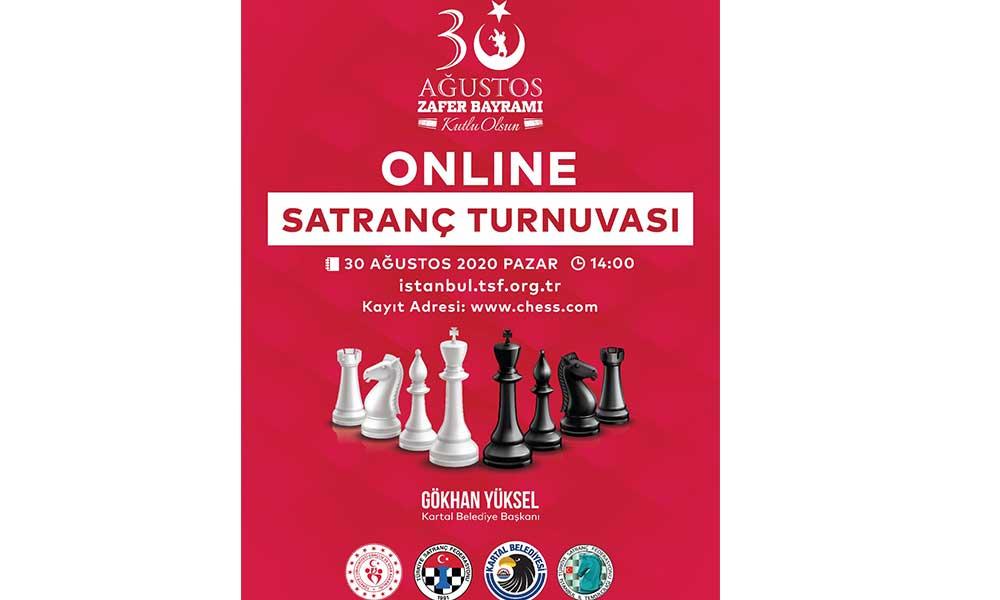 Kartal Belediyesi Zafer Bayramı kapsamında satranç turnuvası düzenliyor