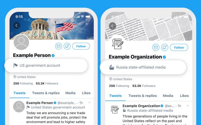 Devlet destekli hesapları Twitter tarafından işaretlenecek