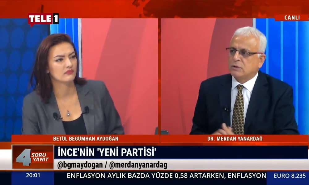 Merdan Yanardağ: Muharrem İnce'nin birdenbire parti kurma iddiasıyla yola çıkmasını garip buluyorum