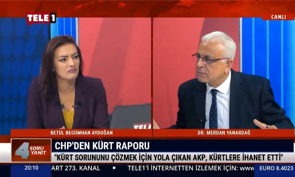 Merdan Yanardağ: Kürt sorununu çözmek için yola çıkan AKP, Kürtlere ihanet etti