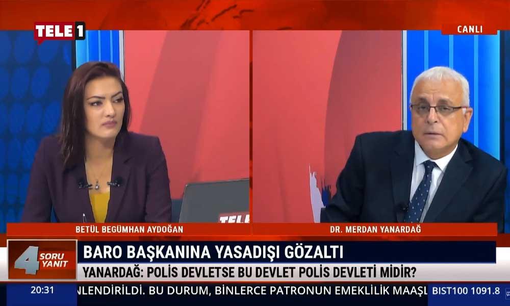 Merdan Yanardağ: Çataklı, AKP iktidarını bile zor duruma sokacak bir laf ettiğinin farkında değil