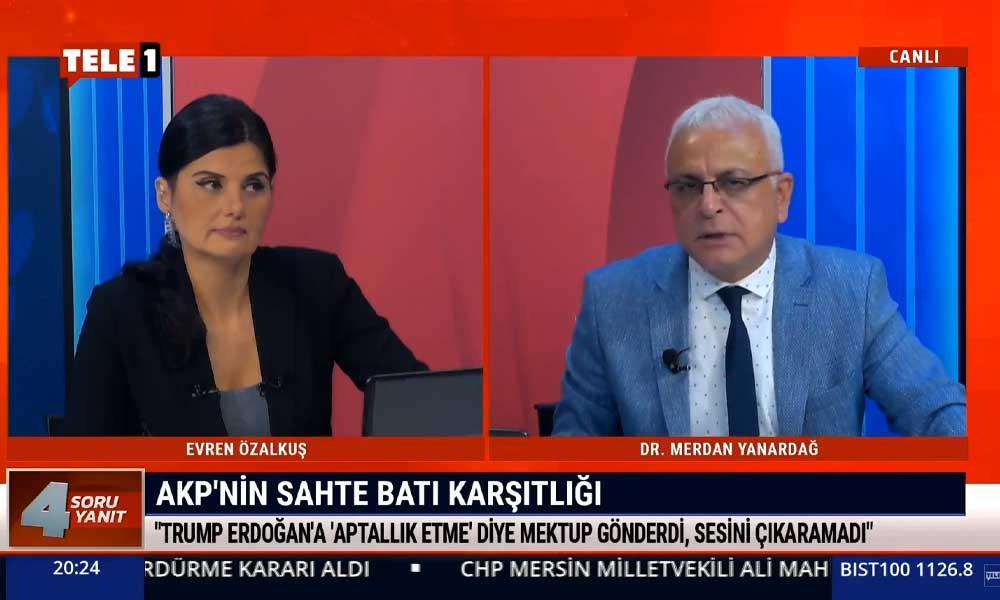Merdan Yanardağ: AKP bir ABD projesidir, Erdoğan 'BOP'un eş başkanıyım' diye övünen biri
