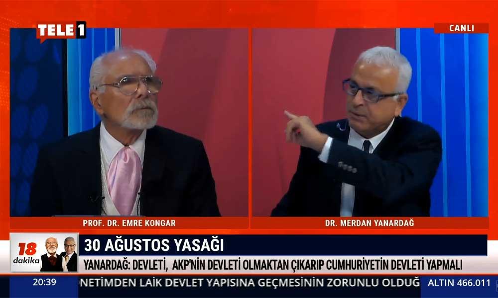 Merdan Yanardağ, medya soytarısı Cüneyt Özdemir'i deşifre etti