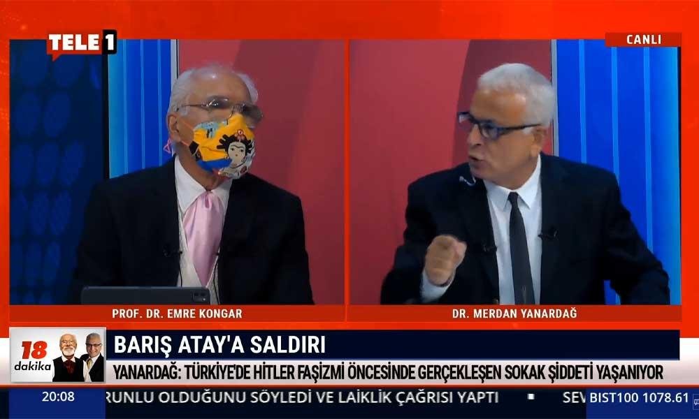 Merdan Yanardağ: Barış Atay'a yapılan saldırı AKP ve Soylu gibi düşünmeyen herkese yapılmıştır