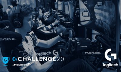 Logitech McLaren G Challenge 2020'de yerini alıyor