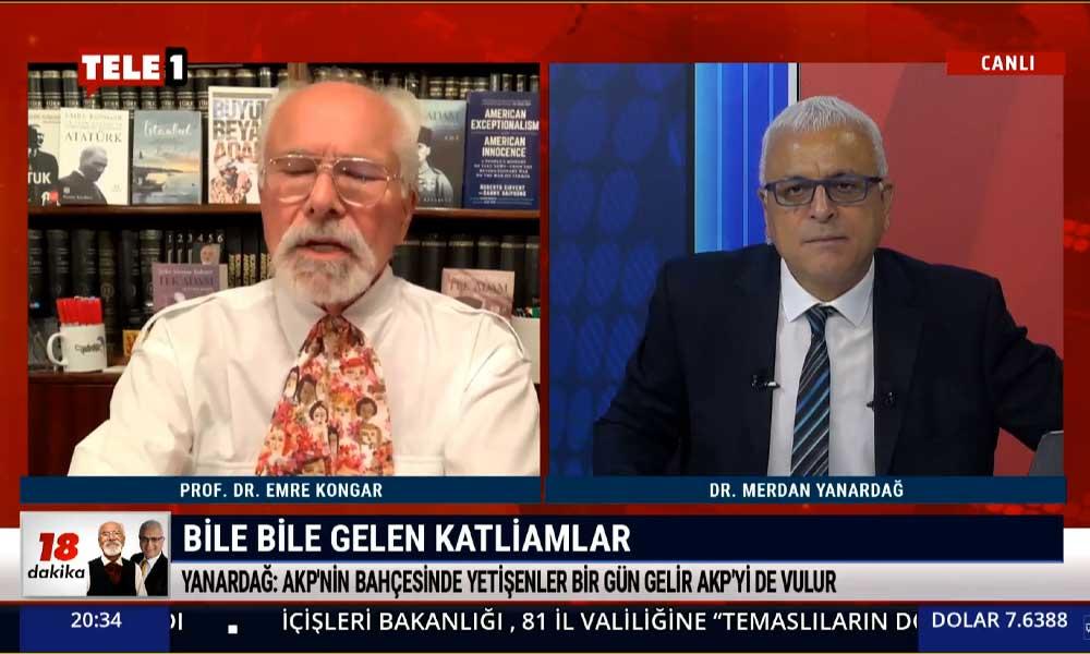 Merdan Yanardağ: AKP iktidar çoğunluğunu kaybetmiş durumda