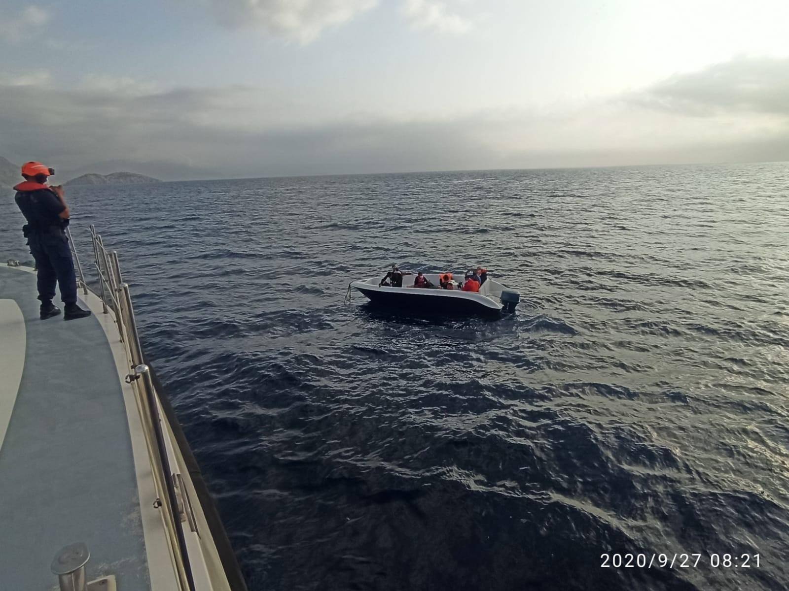 Yunanistan 87 göçmeni Türk kara sularına geri gönderdi